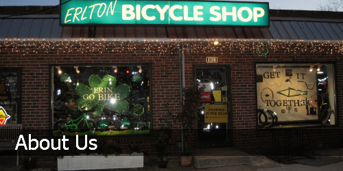 About Your Local Bicycle Shop - Erlton Bike Shop
